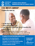 CSS Men's Group - PAUSED UNTIL FURTHER NOTICE